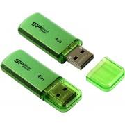 USB флэш-диск Silicon Power 4GB Helios 101 green