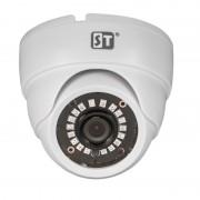 Видеокамера ST-1044 (версия 4), аналоговая, цветная, купольная, с ИК подсветкой, внутренняя
