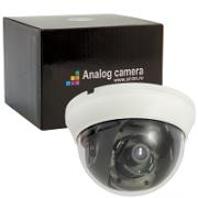 Видеокамера St-705 PRO, цветная,  купольного исполнения, для установки внутри помещения c ИК подсветкой 20 метров, 1/3 D