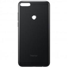 Задняя крышка Huawei Honor 7A Pro черная 1 класс