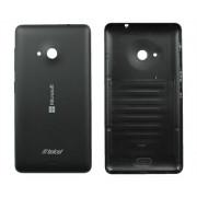 Задняя крышка Nokia 535 Lumia черная 2 класс