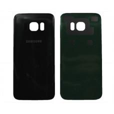 Задняя крышка Samsung G935F Galaxy S7 edge черная 1 класс