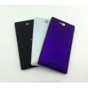 Задняя крышка для Sony Xperia C (C2305/S39H) (фиолетовая)