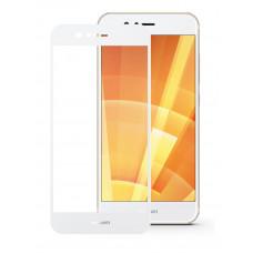 Защитное стекло Huawei Nova 2 Full (тех упак) белое