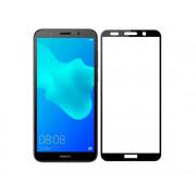 Защитное стекло Huawei Y5 2018/Y5 Prime 2018/Y5 Lite/Honor 7A (тех упак) черное