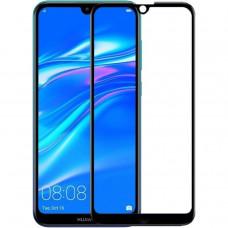 Защитное стекло Huawei Y7 (2019) Full черное