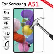 Защитное стекло Samsung A515F Galaxy A51 BoraSCO Full черное, 38258