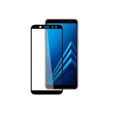 Защитное стекло Samsung A605F Galaxy A6+ (2018)/J810F J8 (2018) Full (тех упак) черное