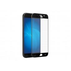 Защитное стекло Samsung A720F Galaxy A7 (2017) 3D Full (тех упак) черное