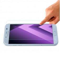 Защитное стекло Samsung A720F Galaxy A7 (2017) Nano (тех упак) прозрачное, 0.1 mm