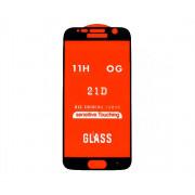 Защитное стекло Samsung G920F Galaxy S6 3D Full (тех упак) черное