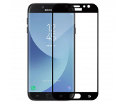 Защитное стекло Samsung J730F Galaxy J7 (2017), черное