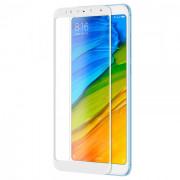 Защитное стекло Xiaomi Redmi 5 Plus, белое