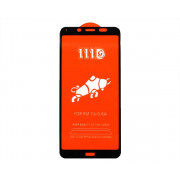 Защитное стекло Xiaomi Redmi 7A Full (тех упак) черное