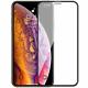 Защитное стекло iPhone X/XS/11 Pro Full матовое черное