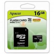 micro SDHC карта памяти Apacer 16GB Сlass 10 (с адаптером)