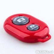 Кнопка для селфи i-10, блютуз, красный