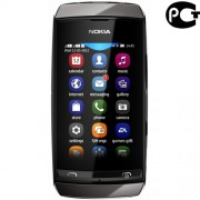 Смартфон Nokia 305 RM-766 - б/у, 2 сим карты, камера, SD, 3G, Wi-Fi, 1200 мАч