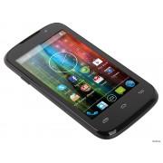 Смартфон Prestigio MultiPhone PAP3400 DUO  - б/у, 2 сим, камера 3 МП, память 4Гб, 3G, Wi-Fi, Bluetooth, GPS, 1500 мАч