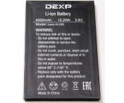 Аккумулятор (батарея) б/у  DEXP Ixion EL350, 4000mAh