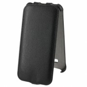 Чехол флип Activ Leather Samsung Galaxy J3 2016 черный (открывается вниз)