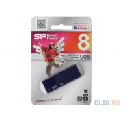 USB-Flash 8Gb Silicon  Ultima U05 Blue