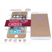 Защитное стекло iPhone 5 colour. Комплект из двух стекол (перед и зад)