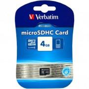 micro SDHC карта памяти Verbatim 8GB Class 4